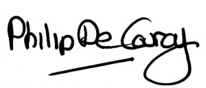 Philip De Courcy Signature